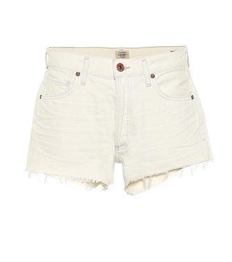 Citizens of Humanity - Bree mid-rise denim shorts - mytheresa.com