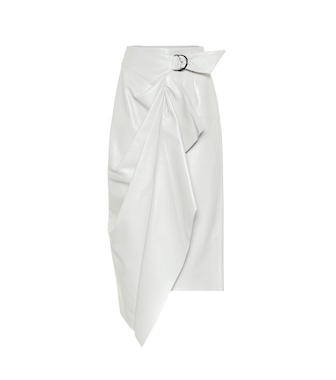 Isabel Marant - Fiova leather midi skirt - mytheresa.com
