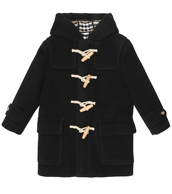 Burberry Kids - Wool duffle coat - mytheresa.com