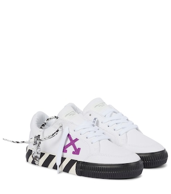 Off-White - Exclusive to Mytheresa – Vulcanized canvas sneakers - mytheresa.com