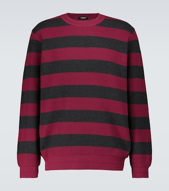 Undercover - Striped cotton sweater - mytheresa.com