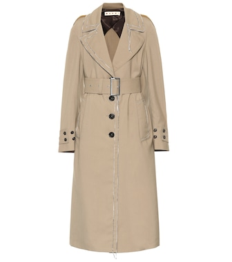 Marni - Wool trench coat - mytheresa.com