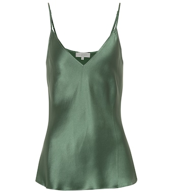 Lee Mathews - Rose silk satin camisole - mytheresa.com