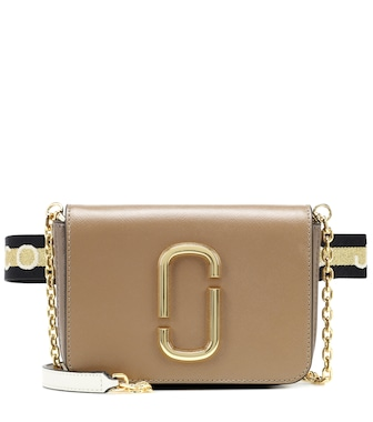 Marc Jacobs - Hip Shot leather belt bag - mytheresa.com