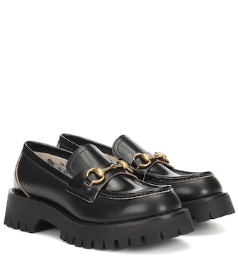 Gucci - Horsebit leather loafers - mytheresa.com