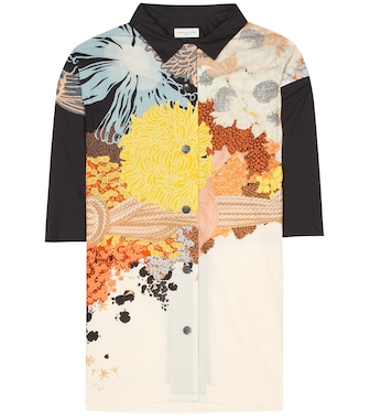 Dries Van Noten - Printed floral silk shirt - mytheresa.com