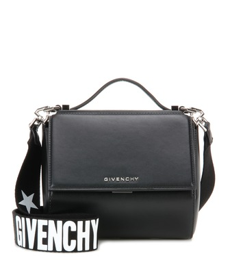 Givenchy - Pandora Box Mini leather shoulder bag - mytheresa.com
