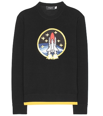Coach - Rocket Shuttle embellished wool sweater - mytheresa.com