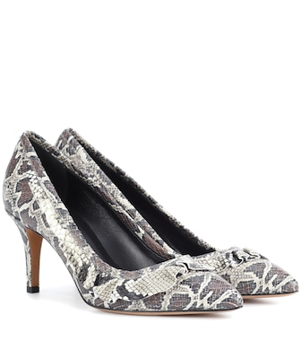 Isabel Marant - Poween printed leather pumps - mytheresa.com