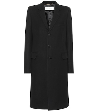 Saint Laurent - Wool coat - mytheresa.com
