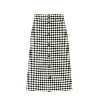 Balenciaga - Checked skirt - mytheresa.com