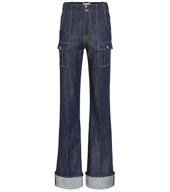 Chloé - High-rise flared jeans - mytheresa.com