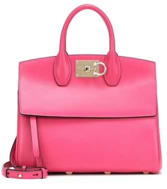 Salvatore Ferragamo - Studio Small leather tote - mytheresa.com