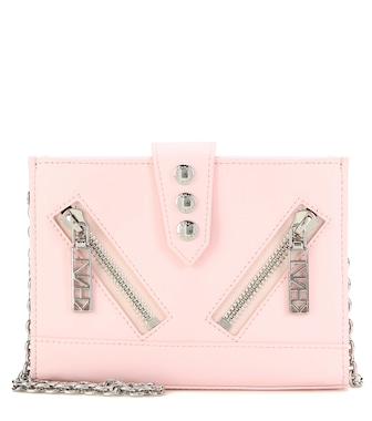 Kenzo - Kalifornia leather shoulder bag - mytheresa.com