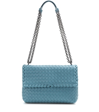Bottega Veneta - Olimpia Small intrecciato leather shoulder bag - mytheresa.com