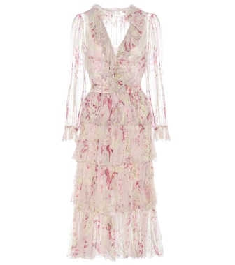 Zimmermann - Winsome printed silk georgette dress - mytheresa.com