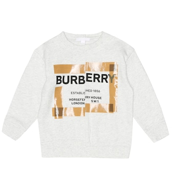 Burberry Kids - Printed cotton sweatshirt - mytheresa.com