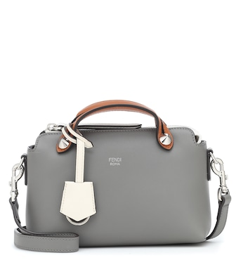 Fendi - By The Way Small leather shoulder bag - mytheresa.com