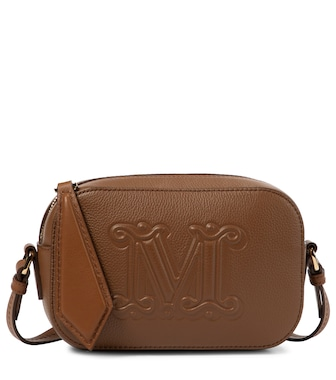 Max Mara - Elsa Small leather shoulder bag - mytheresa.com
