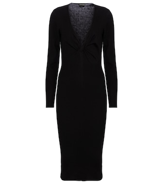 Tom Ford - Cashmere and silk midi dress - mytheresa.com
