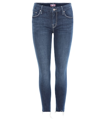 Mother - Cropped Jeans The Looker Ankle Fray - mytheresa.com