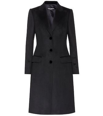 Dolce & Gabbana - Wool and cashmere coat - mytheresa.com