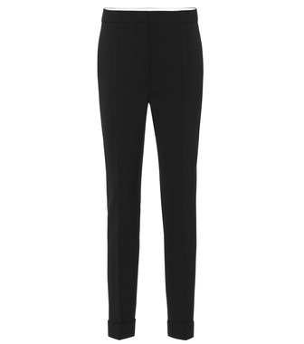 Stella McCartney - Pantaloni in lana stretch - mytheresa.com