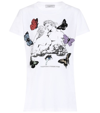Valentino - x UNDERCOVER printed cotton T-shirt - mytheresa.com