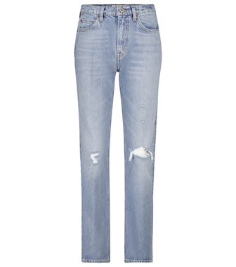 Re/Done - 70's Straight high-rise jeans - mytheresa.com
