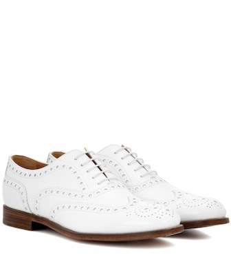 Church's - Burwood leather Oxford shoes - mytheresa.com