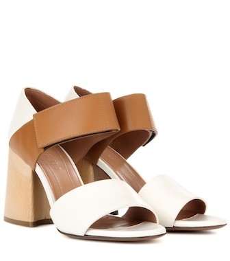 Marni - Exclusive to mytheresa.com — Leather sandals - mytheresa.com