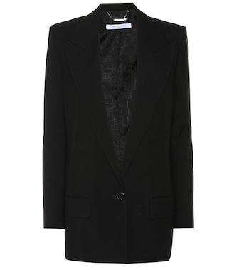 Givenchy - Wool and mohair blazer - mytheresa.com