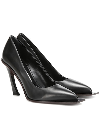 Acne Studios - Pumps in pelle - mytheresa.com