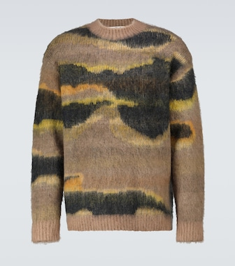 Acne Studios - Klinac Mountain mohair sweater - mytheresa.com