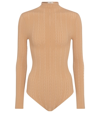 Fendi - Lace bodysuit - mytheresa.com
