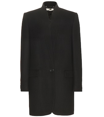 Stella McCartney - Wool-blend coat - mytheresa.com
