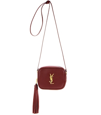 Saint Laurent - Classic Monogram leather shoulder bag - mytheresa.com