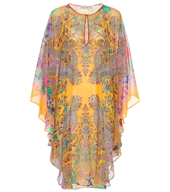 Etro - Printed silk dress - mytheresa.com
