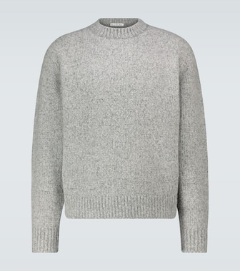 Acne Studios - Kael wool-blend crewneck sweater - mytheresa.com