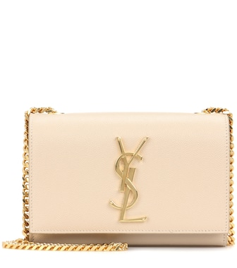 Saint Laurent - Classic Small Kate Monogram leather shoulder bag - mytheresa.com