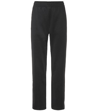 Acne Studios - Face cotton-blend trackpants - mytheresa.com