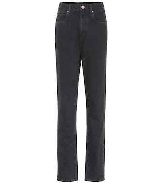 Isabel Marant - Dustin high-rise straight jeans - mytheresa.com