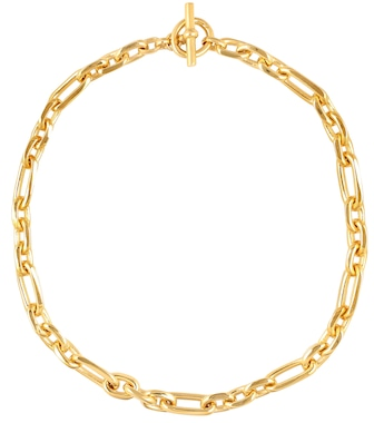 Tilly Sveaas - 18kt gold-plated watch chain necklace - mytheresa.com