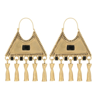 Saint Laurent - Triangle Charm earrings - mytheresa.com