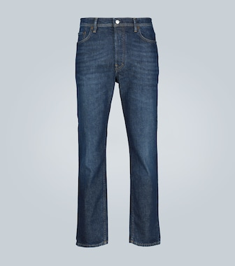 Acne Studios - River slim-fit high-waisted jeans - mytheresa.com