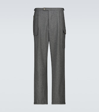 WINNIE N.Y.C - Pleated wool pants - mytheresa.com