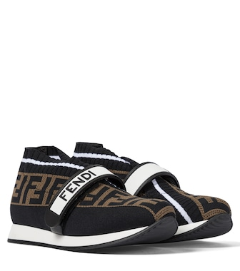 Fendi Kids - Sneakers FF aus Strick - mytheresa.com