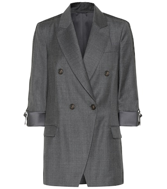 Brunello Cucinelli - Virgin wool blazer - mytheresa.com
