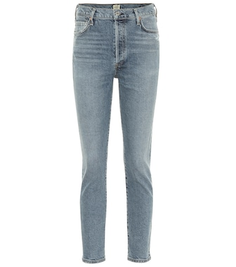 Citizens of Humanity - High-Rise Slim Jeans Olivia - mytheresa.com