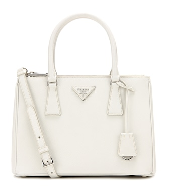 Prada - Galleria Saffiano Small leather shoulder bag - mytheresa.com